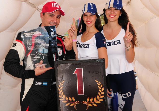 Abarth Punto Competizione - Obera 2016 - Carrera 2 - Christian Romero