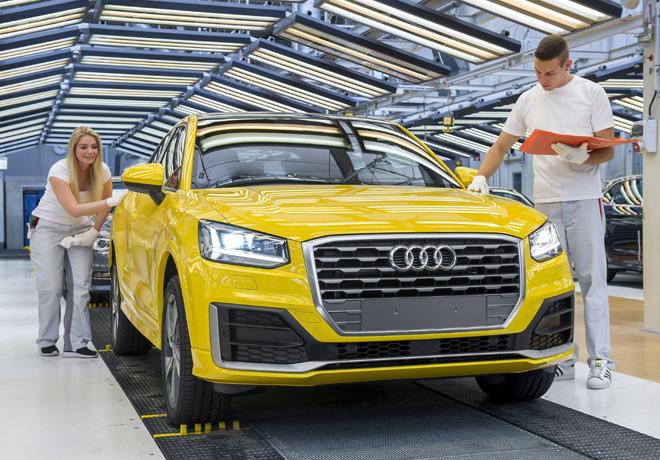 Audi Q2 - Inicio de produccion 1