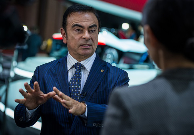 Carlos Ghosn - Presidente y CEO de Nissan Motor Co
