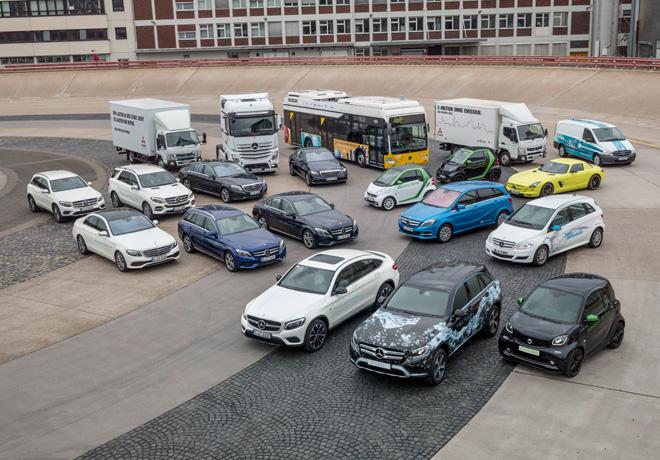 Daimler sigue por la senda del exito