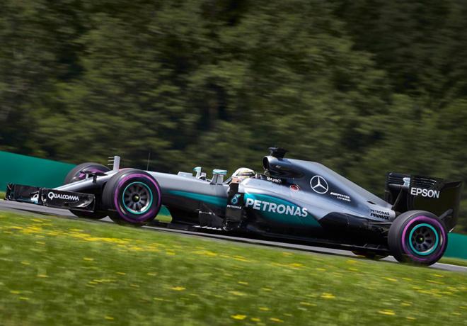 F1 - Austria 2016 - Clasificacion - Lewis Hamilton - Mercedes GP