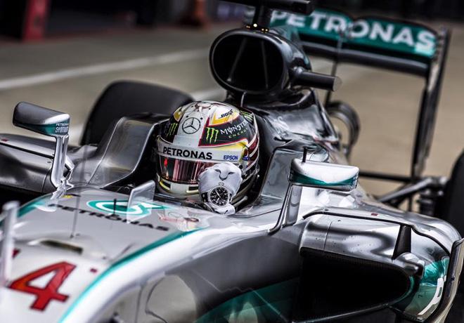 F1 - Gran Bretana 2016 - Carrera - Lewis Hamilton - Mercedes GP