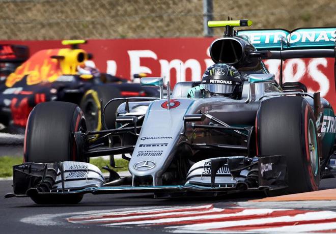 F1 - Hungria 2016 - Clasificacion - Nico Rosberg - Mercedes GP