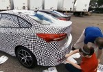 Ford revela sus tecnicas de camuflaje para proteger sus prototipos 4