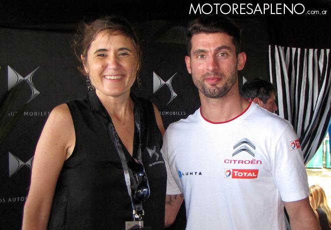 Formula E - DS Virgin Racing - Valentina Solari y Pechito Lopez