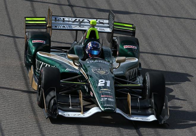 IndyCar - Iowa 2016 - Carrera - Josef Newgarden