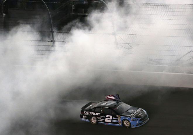 NASCAR - Daytona 2016 - Brad Keselowski - Ford Fusion