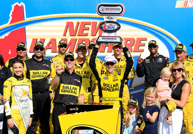 NASCAR - New Hampshire 2016 - Matt Kenseth en el Victory Lane