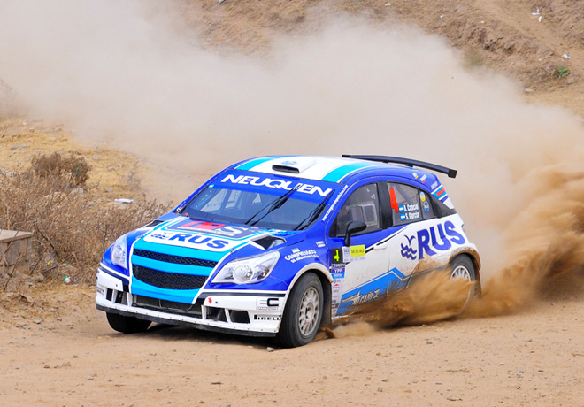 Rally Argentino - Tafi del Valle 2016 - Etapa 1 - Alejandro Cancio - Chevrolet Agile MR
