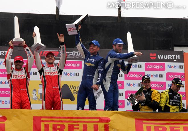 STC2000 - 200 km de Buenos Aires 2016 - Carrera - El Podio