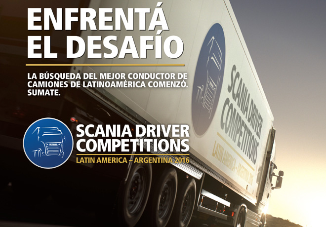 Scania Driver Competitions Latin America - Argentina 2016