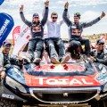 Victoria del Team Peugeot TOTAL en el Silk Way Rally 2016