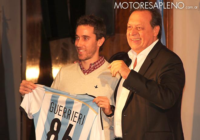 WTCC - Esteban Guerrieri en la presentacion de la fecha de Argentina en el ACA