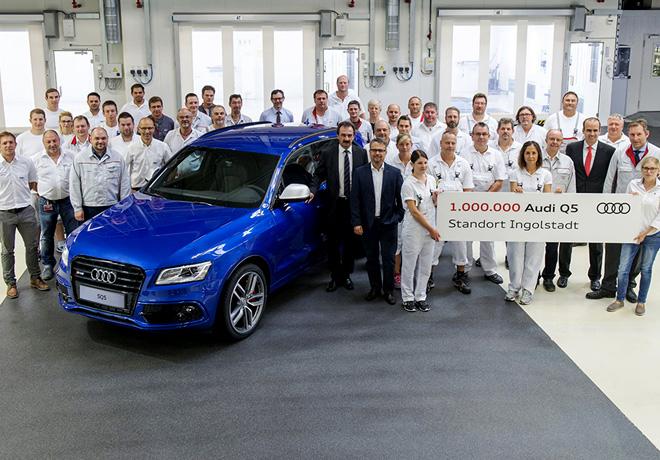 Audi Q5 numero un millon