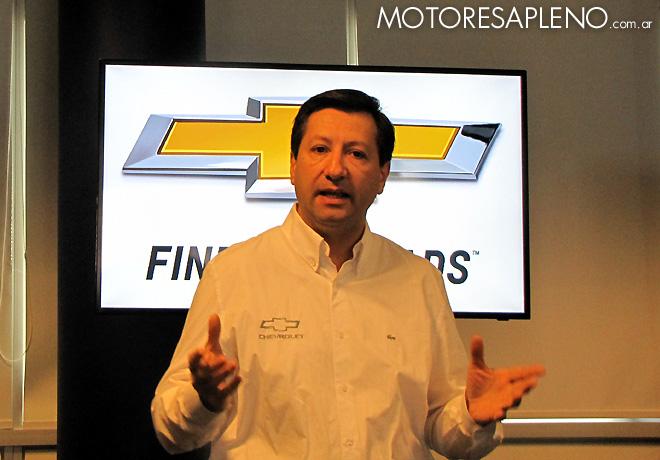 Bernardo Garcia - Gerente de Comunicaciones y Responsabilidad Corporativa de General Motors Argentina