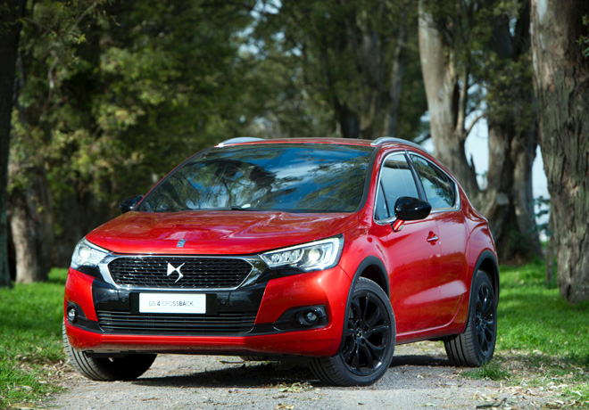 DS 4 Crossback: Elegancia todo-terreno.