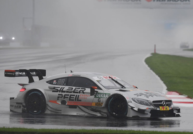 DTM - Moscu 2016 - Carrera 1 - Robert Wickens - Mercedes-Benz