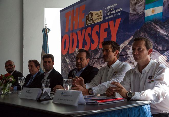 Dakar 2017 - Presentacion Oficial en Buenos Aires