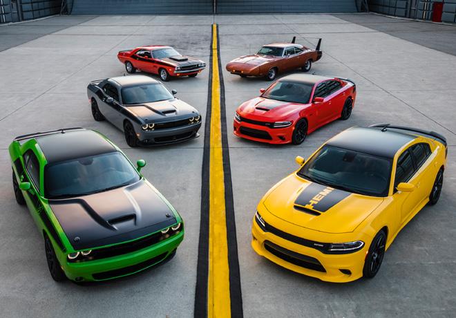 Dodge presente en el evento anual Woodward Dream Cruise con los nuevos Challenger TA y Charger Daytona 2017