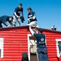 FCA y CNHi construyeron junto a la ONG Techo en Cordoba