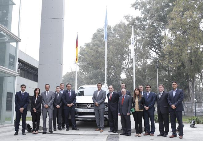 Grupo Volkswagen Argentina firmo acuerdo de financiacion con el Banco Ciudad 2