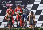 MotoGP - Spielberg 2016 - Andrea Dovizioso - Andrea Iannone - Jorge Lorenzo en el Podio