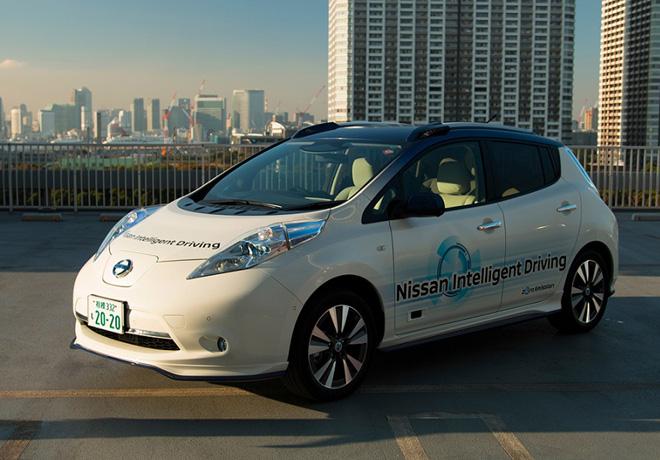Nissan Intelligent Driving 1