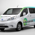 Nissan e-NV200 e-Bio Fuel Cell 1