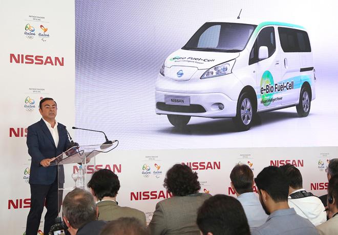 Nissan presenta nuevos prototipos de su Movilidad Inteligente en Rio de Janeiro 1