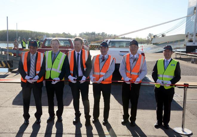 Partio el primer embarque de Toyota Argentina a sus nuevos destinos de exportacion 1