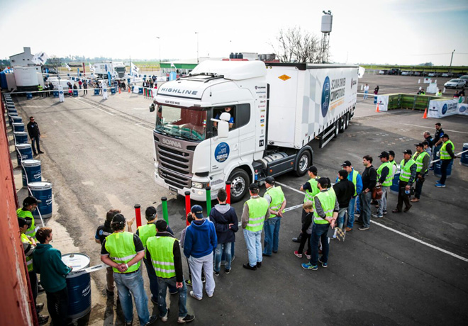 Scania Driver Competitions - Parana 1