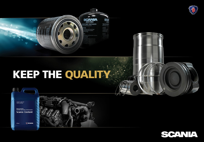 Scania - Promocion - Keep the Quality