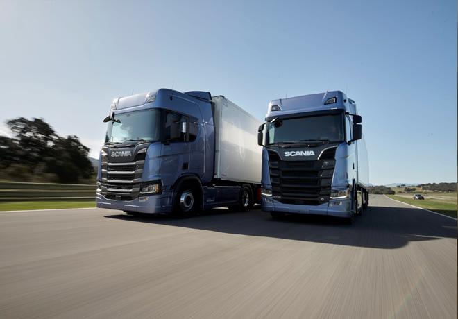 Scania presento su nueva generacion de camiones 1
