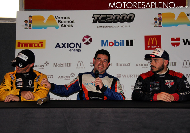 TC2000 - Buenos Aires II 2016 - Carrera Final - Mariano Pernia - Emmanuel Caceres - Alessandro Salerno