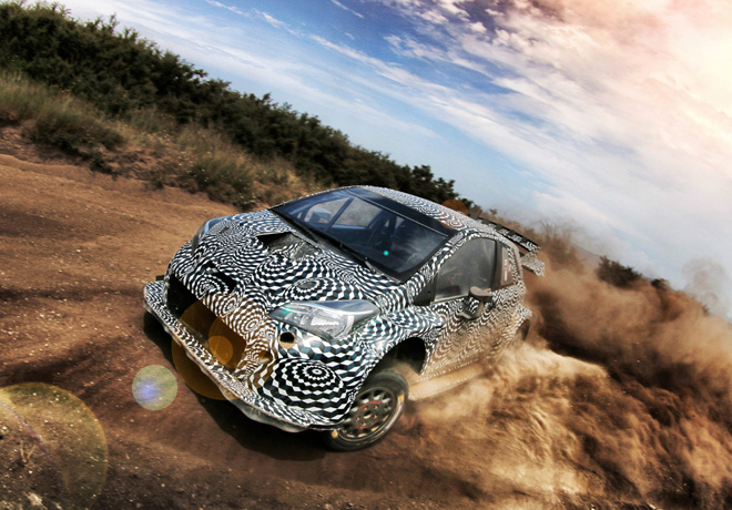 Toyota Gazoo Racing prueba intensamente al Yaris WRC 1