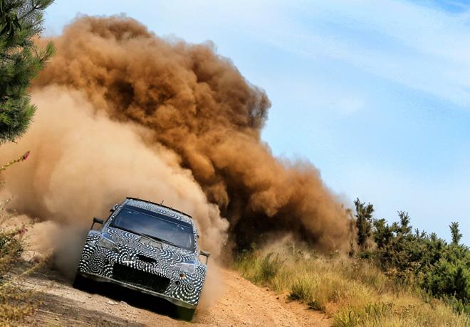 Toyota Gazoo Racing prueba intensamente al Yaris WRC 3