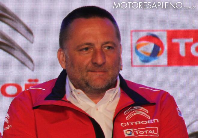 Yves Matton - Director de Citroen Racing
