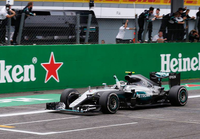 F1 - Italia 2016 - Carrera - Nico Rosberg - Mercedes GP
