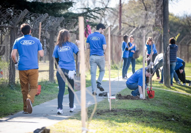 Ford Argentina inicia el Mes del Voluntariado Global 1