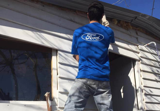 Ford Argentina inicia el Mes del Voluntariado Global 2
