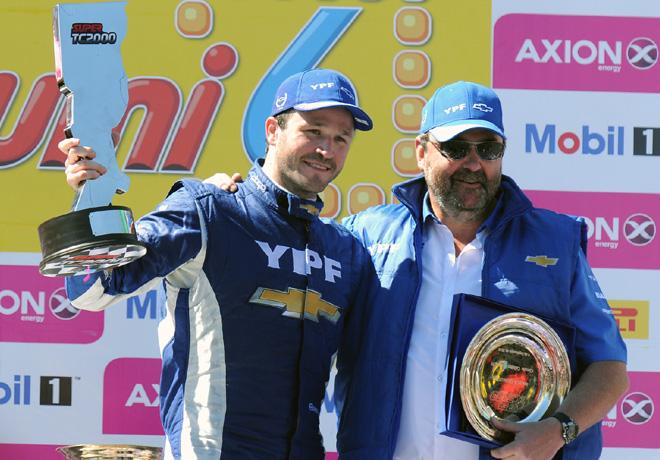 STC2000 - Callejero de Santa Fe 2016 - Carrera Diurna - Agustin Canapino y Jorge Maiquez en el Podio