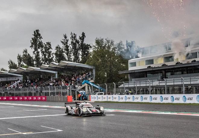 WEC - 6 hs de Mexico 2016 - Timo Bernhard - Mark Webber - Brendon Hartley - Porsche 919 Hybrid