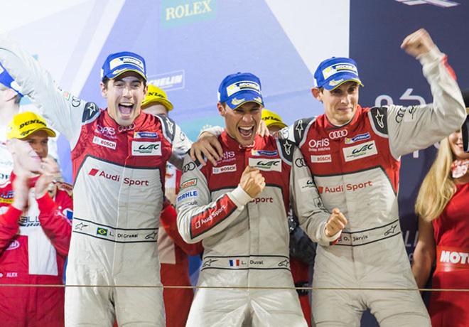 wec-6-hs-de-bahrein-2016-lucas-di-grassi-loic-duval-oliver-jarvis-en-el-podio