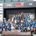 wrc-australia-2016-final-andreas-mikkelsen-y-sebastien-ogier-y-el-equipo-vw-en-el-podio