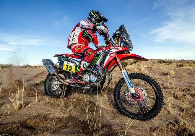 Dakar 2017 - Etapa 11 - Michael Metge - Honda