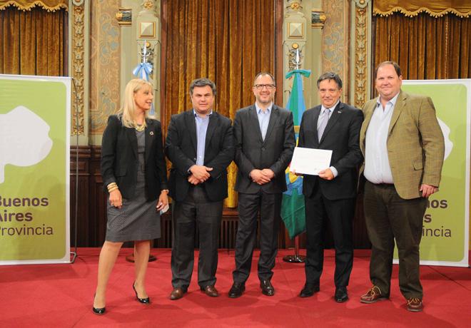 Ford Argentina fue reconocida por el Gobierno de la Provincia de Buenos Aires por su compromiso social