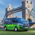 Ford Transit Hybrid Plugin - Londres 1
