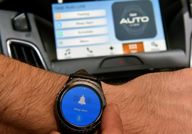 Ford integra SYNC a los Samsung GearS2 y Gear S3