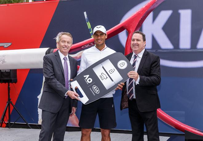 Kia Motors y Rafael Nadal juntos en el Australian Open 2017 1