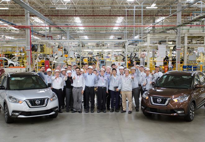Nissan Kicks - Primeras unidades salidas de la planta de Resende